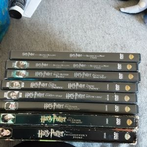 Complete Harry Potter movie set!